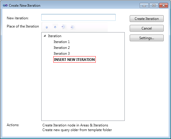 TFS Iteration Manager for VS 2010 - Visual Studio Marketplace